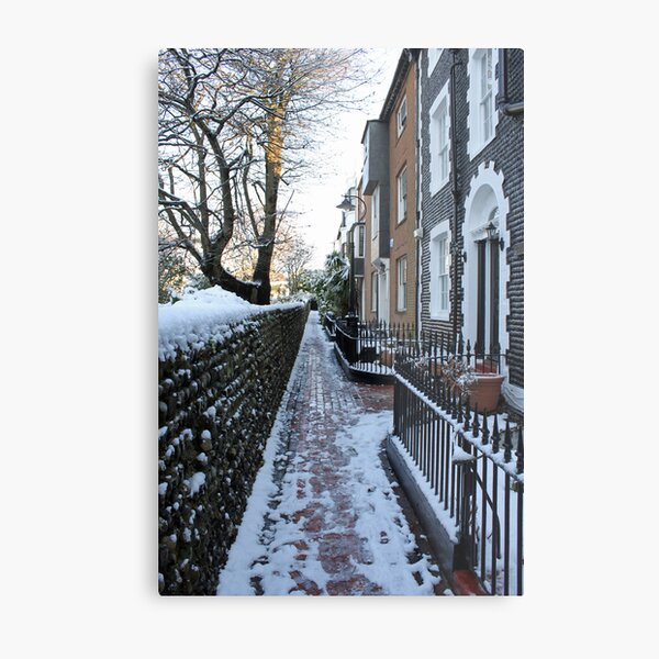 St. James's Place in the snow Metal Print