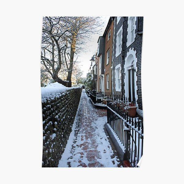 St. James's Place in the snow Poster