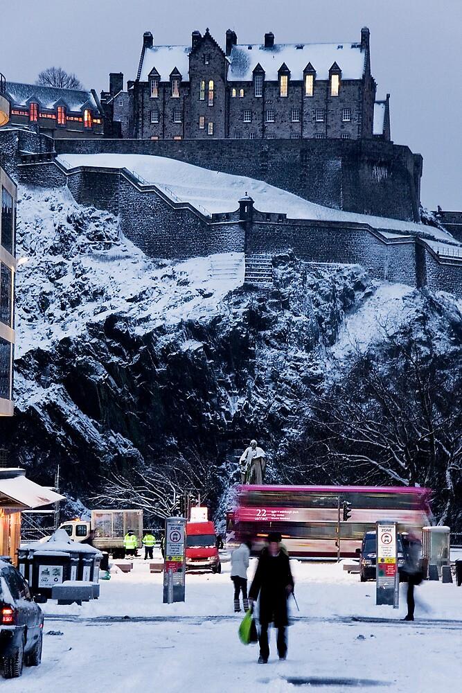 Edinburgh Winter I by Chris Clark
