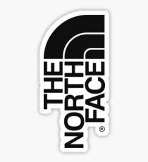The North Face - Design Black Sticker