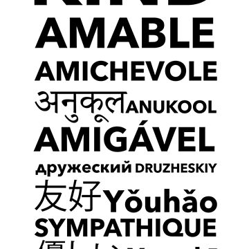Choose Kind in different languages- Arabic Added New Version by kihei-design