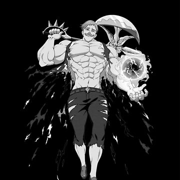 Escanor Seven Deadly Sins by Kaluma