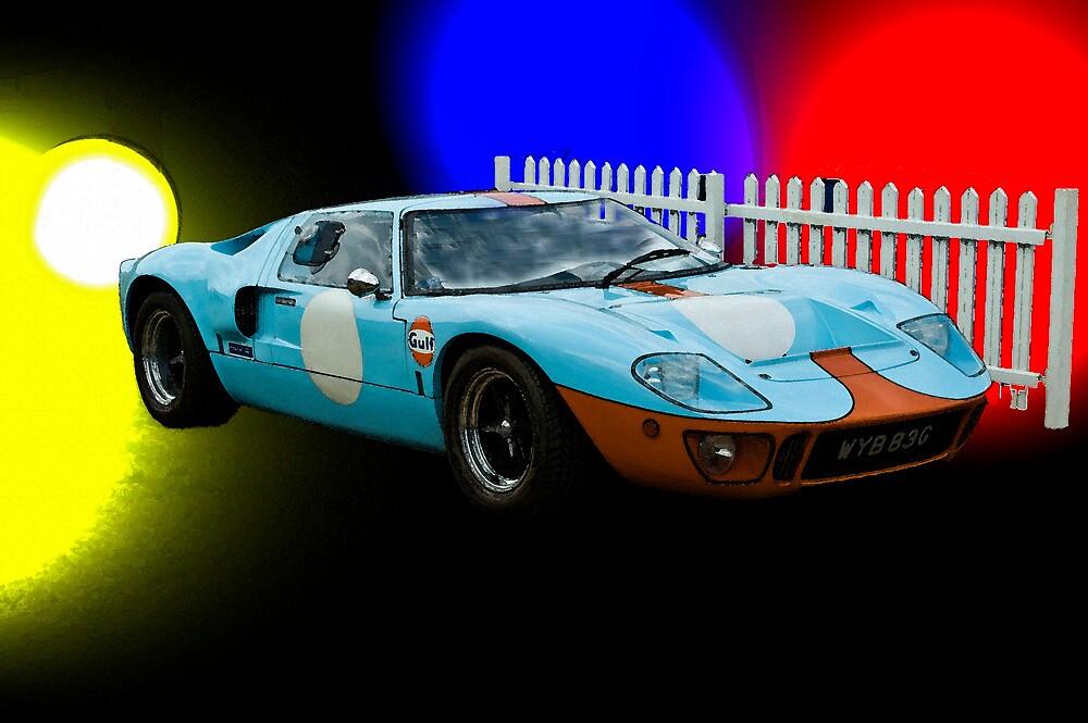 Gulf GT40 by Willie Jackson