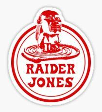 Raider Jones Sticker