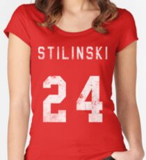 Stilinski Jersey Women's Fitted Scoop T-Shirt