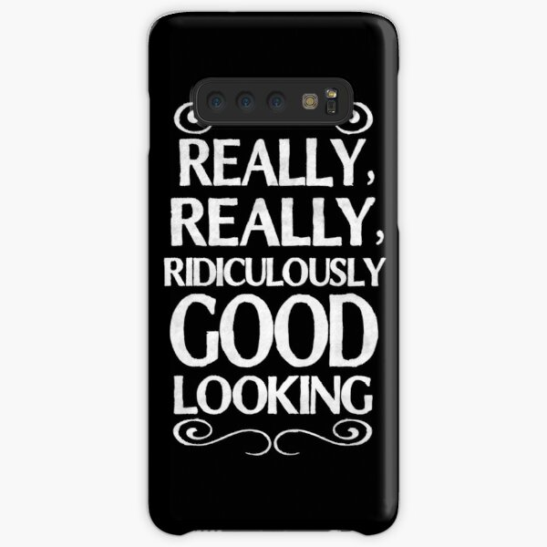 Really, really, ridiculously good looking (Zoolander). Samsung Galaxy Snap Case