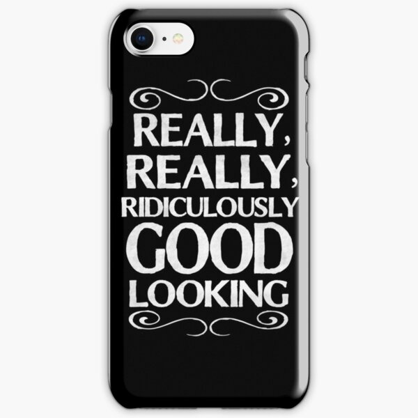 Really, really, ridiculously good looking (Zoolander). iPhone Snap Case