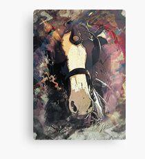 Equine Elegance: Budweiser Horses at the Calgary Stampede Metal Print