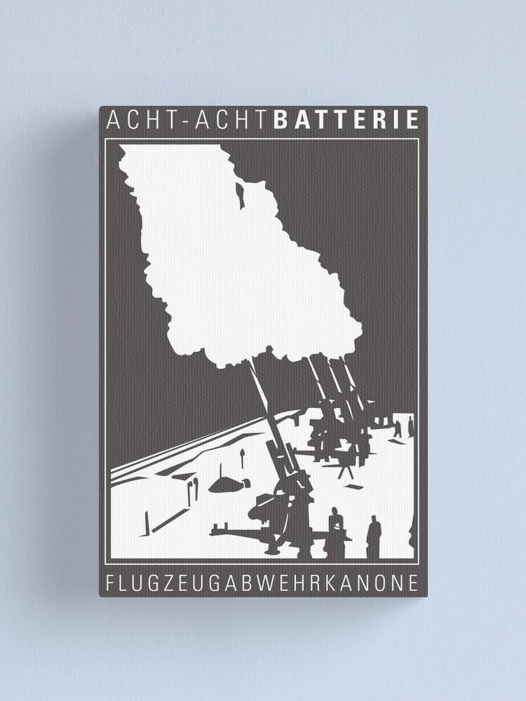 Alternate view of Flak 88 Batterie Canvas Print