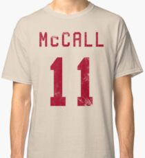 McCall Jersey- Red Classic T-Shirt
