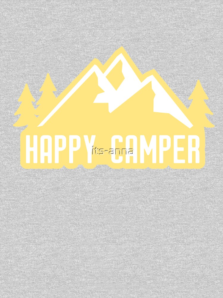 Happy Camper (montañas amarillas) de its-anna
