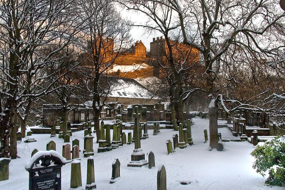 Edinburgh Winter IV by Chris Clark