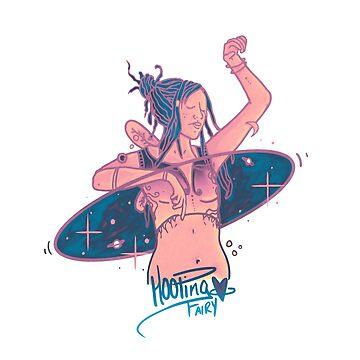 Hooping Fairy | Galactic by DanJohnDesign
