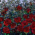 Garden of Roses by Alison Newth