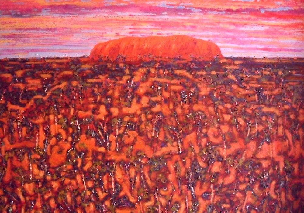 Ayers Rock 2 by Richard  Tuvey