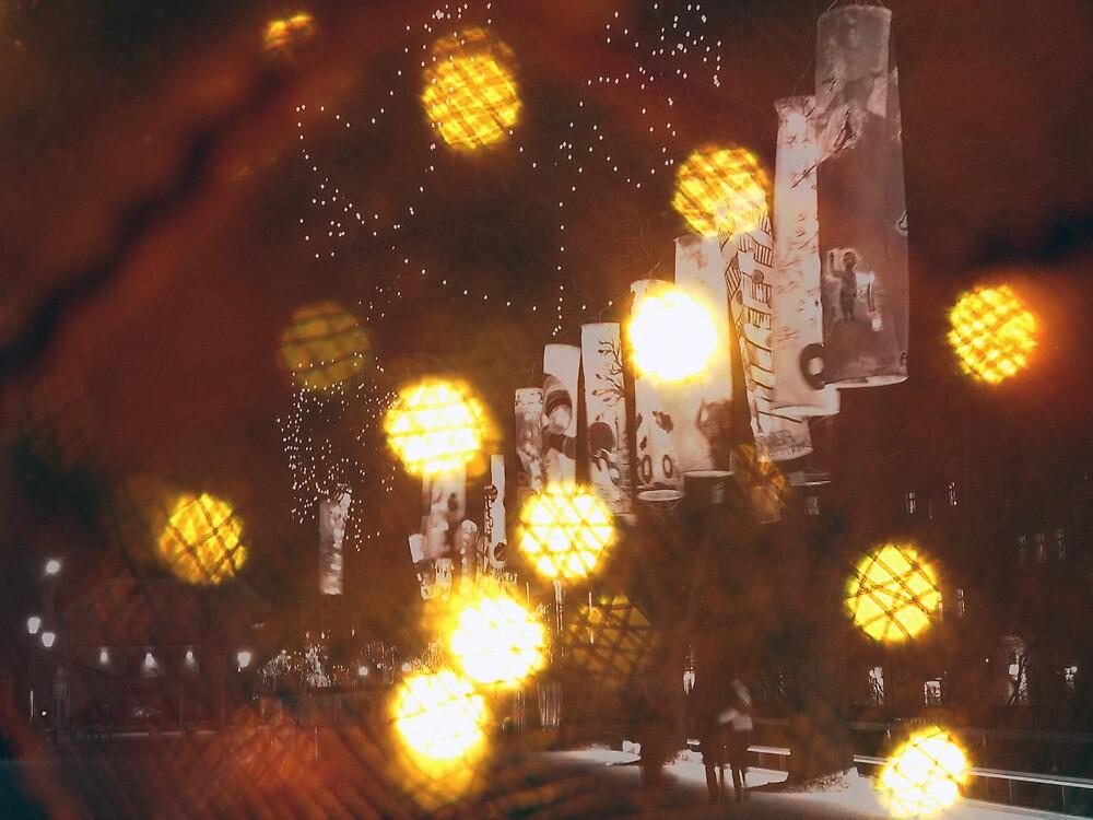 Christmas lights by Katarina Kuhar