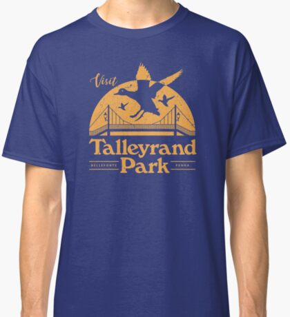 Talleyrand Park - Yellow Classic T-Shirt