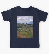a colourful Rwanda landscape Kids Clothes