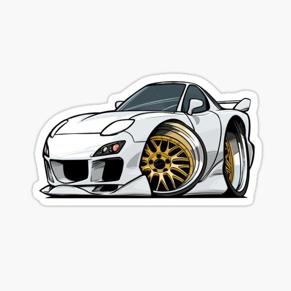 Mazda RX7 Sticker