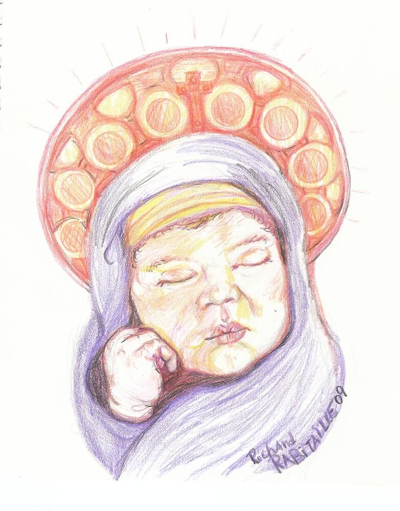 Christ Child by RicoR8Art