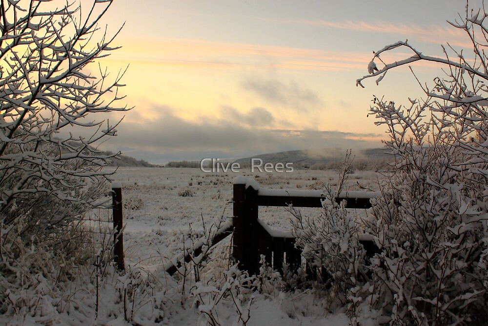 Snow in the Valleys by Clive  Rees