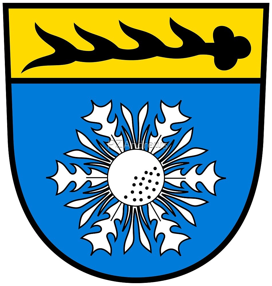Coat of Arms of Albstadt, Germany by PZAndrews