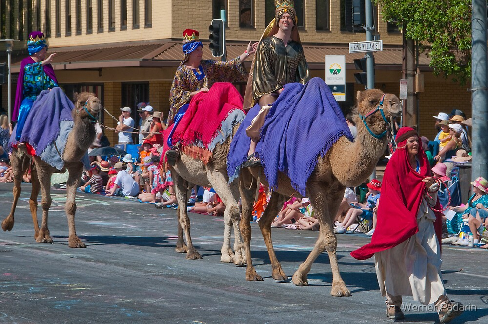We Three Kings of Orient Are by Werner Padarin