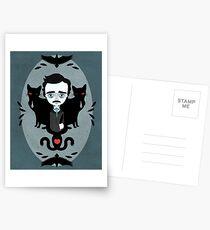 Edgar Allan Poe Postkarten