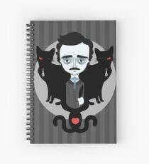 Edgar Allan Poe Spiralblock