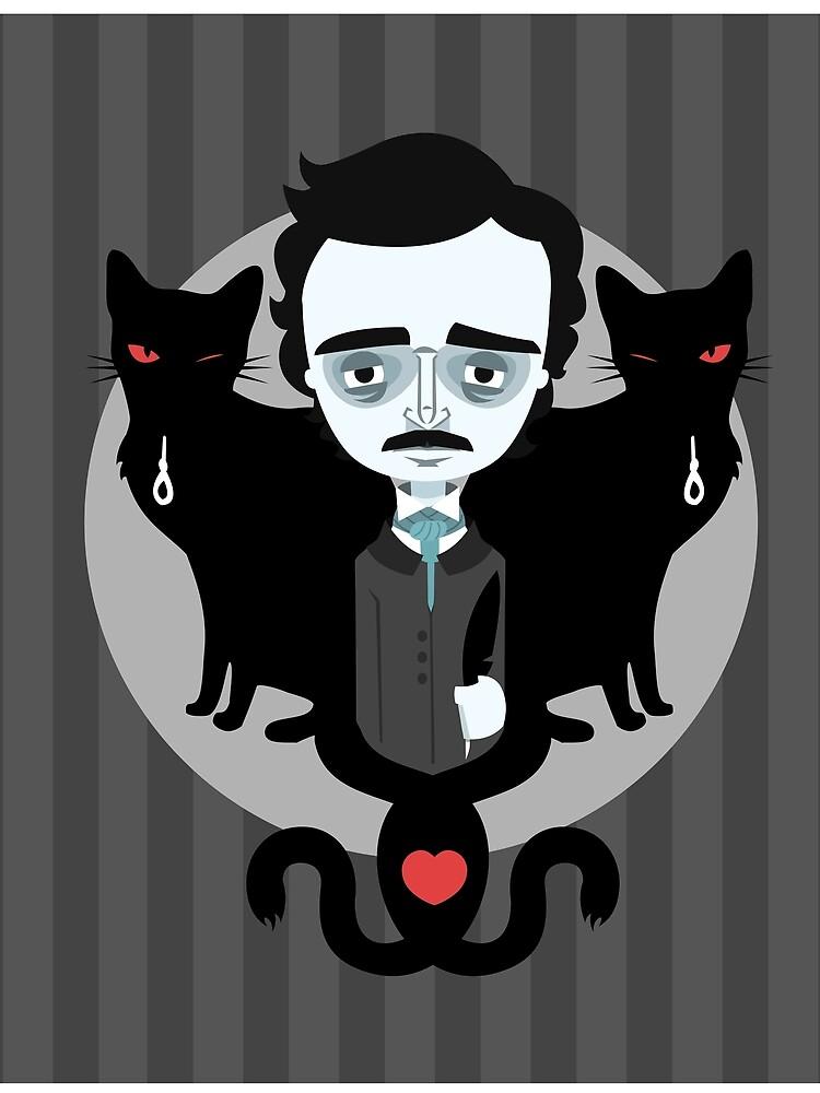 Edgar Allan Poe by murphypop