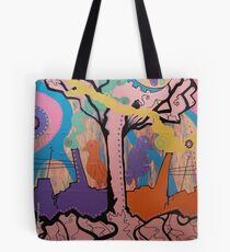 Magnificent Torn in Two Tote Bag