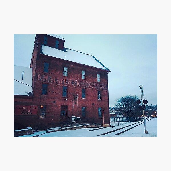 Gamble Mill Photographic Print