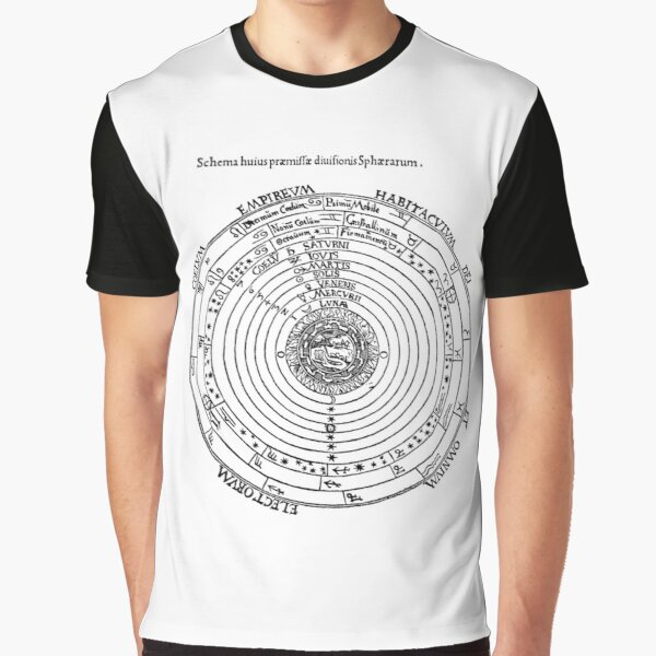 Geocentric model, geocentrism, Ptolemaic system #Geocentric #model #geocentrism #Ptolemaic #system #GeocentricModel #PtolemaicSystem #design Graphic T-Shirt