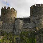 Conwy Castle. North Wales by hans peðer alfreð olsen