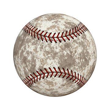 Baseball Game Sports Ball Cool Design by rubina