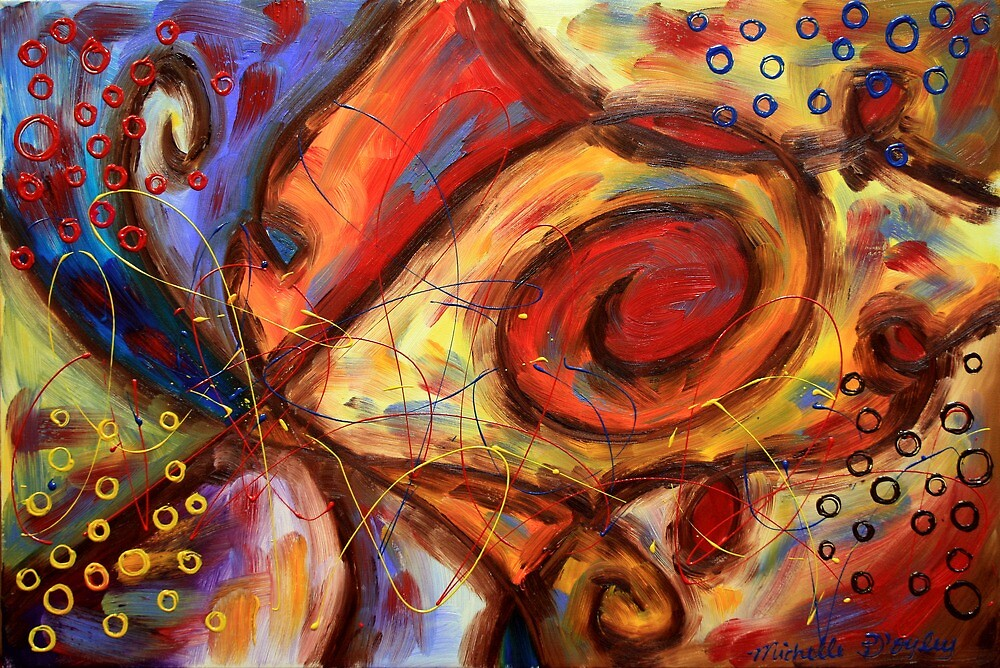 Emerging From the Pain by Abstract D'Oyley