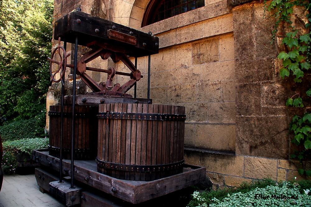 Grape Press - Chateau Montelena by Elliot MacDonald