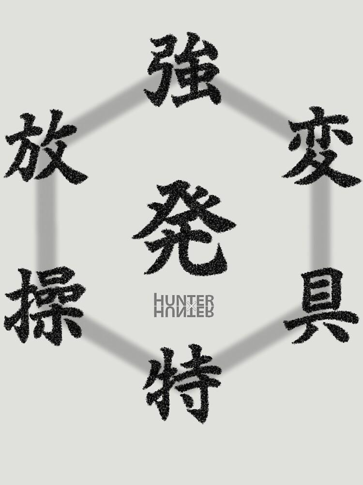 Hunter x Hunter Hatsu Diagram | Unisex T-Shirt