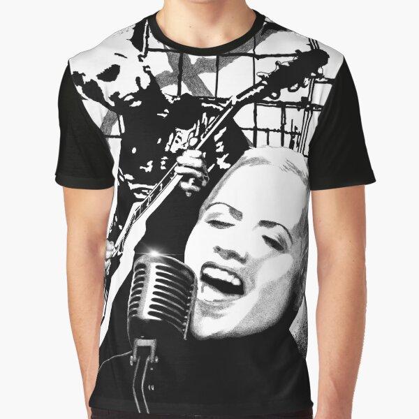 Dolores ORiordan Fan Art Montage  Graphic T-Shirt