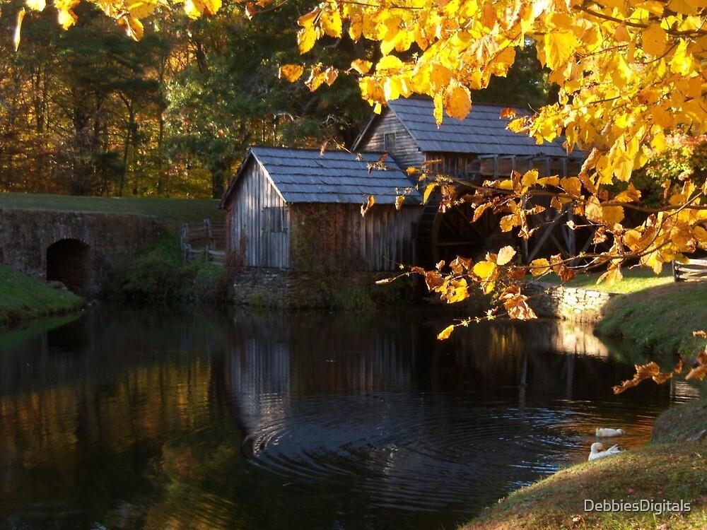 Mabry Mill, Virginia by DebbiesDigitals