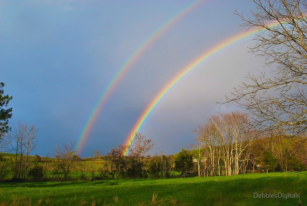 Double Rainbow by DebbiesDigitals