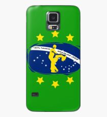 lets dance brazilian zouk flag color design Case/Skin for Samsung Galaxy