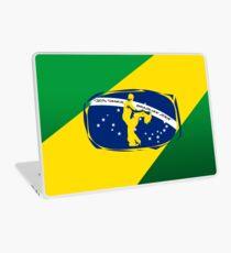 lets dance brazilian zouk flag color design Laptop Skin