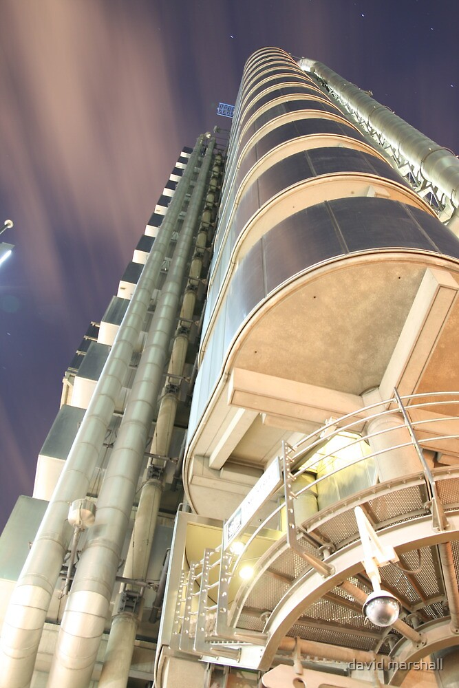 Lloyds building by david marshall