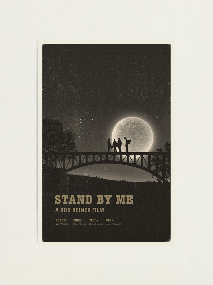 Alternate view of Stand by Me Photographic Print