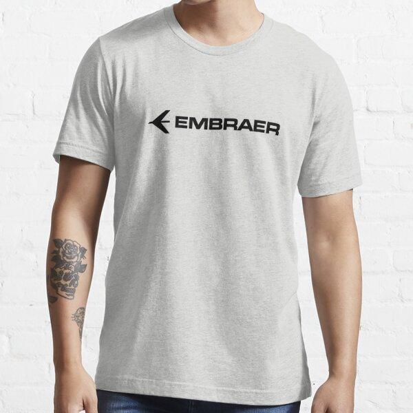 embraer logo black Essential T-Shirt