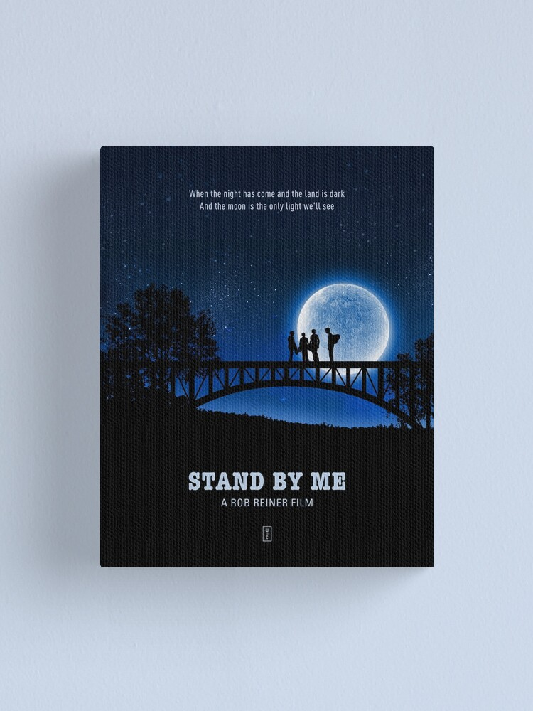 Alternate view of Stand by Me Canvas Print