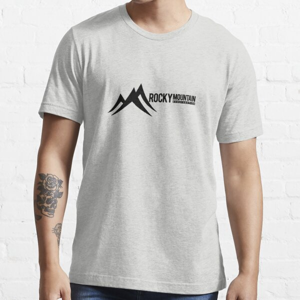 rocky mountain construction RMC logo in black Essential T-Shirt