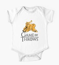 Game Of Throws - Martial Arts Gift One Piece - Short Sleeve