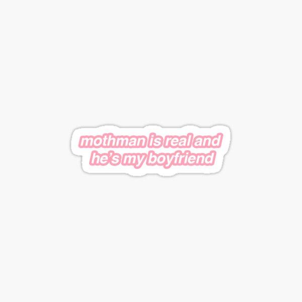 mothman boyfriend Sticker